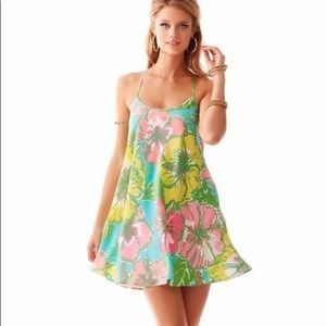 Lilly Pulitzer Maisy Silk Slip Dress